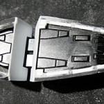 HGUC revive ガンダムMk-2足裏の肉抜け穴処理